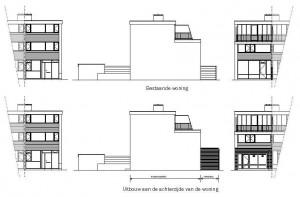 Uitbouw woning te Lelystad